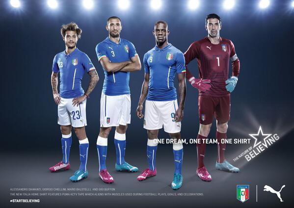 Italia Puma Mundial 2014